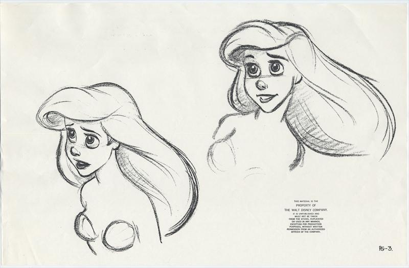 auction.howardlowery.com: 33 Disney THE LITTLE MERMAID