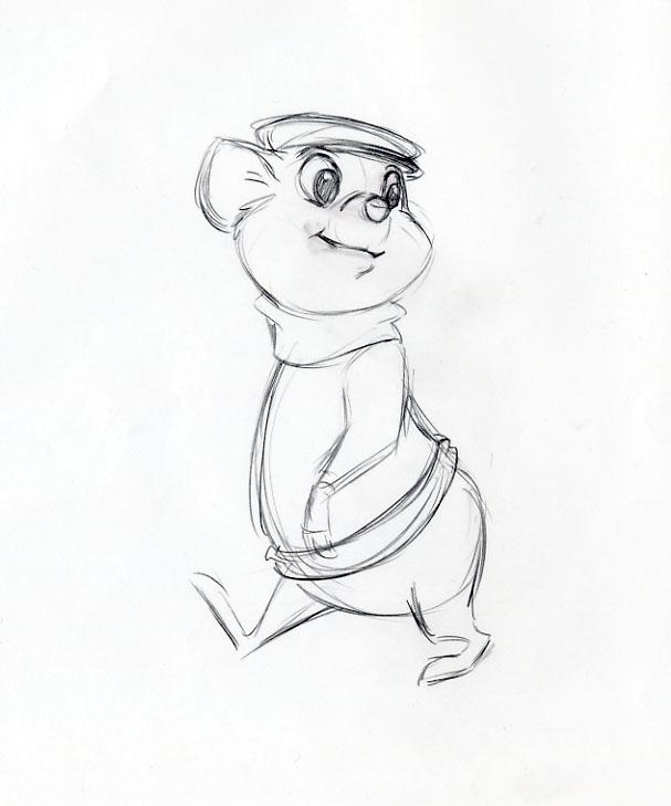 auction.howardlowery.com: 7 Disney THE RESCUERS DOWN UNDER
