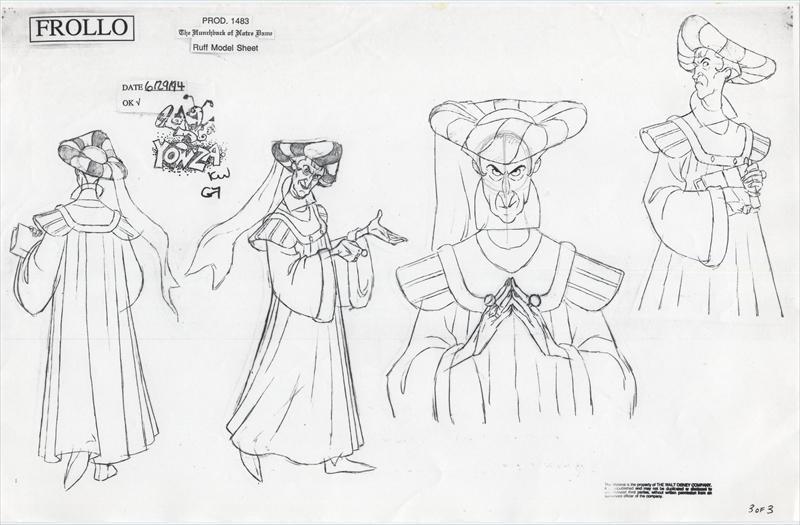 auction.howardlowery.com: Disney HUNCHBACK OF NOTRE DAME