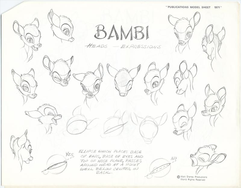 auction.howardlowery.com: Walt Disney Productions BAMBI