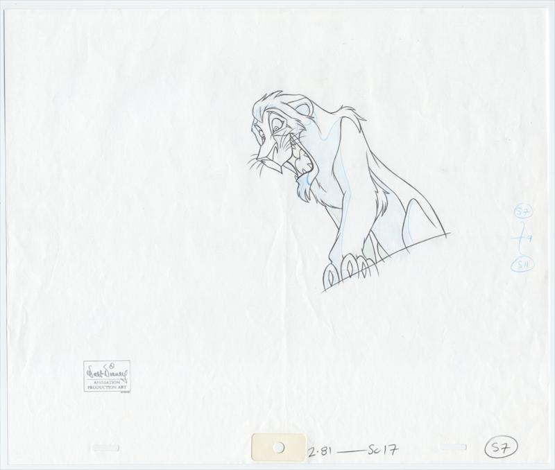 auction.howardlowery.com: Disney THE LION KING II: SIMBA'S