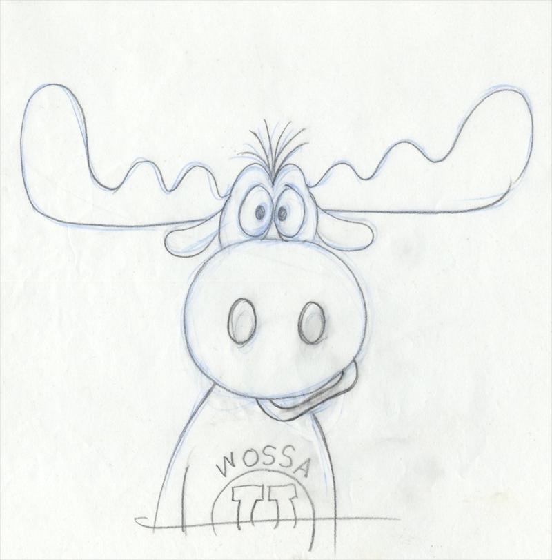 auction.howardlowery.com: BULLWINKLE J. MOOSE Animation