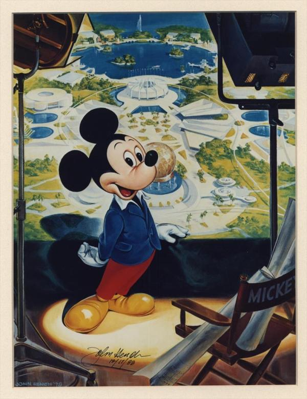 Disneyland Mickey Mouse Prints