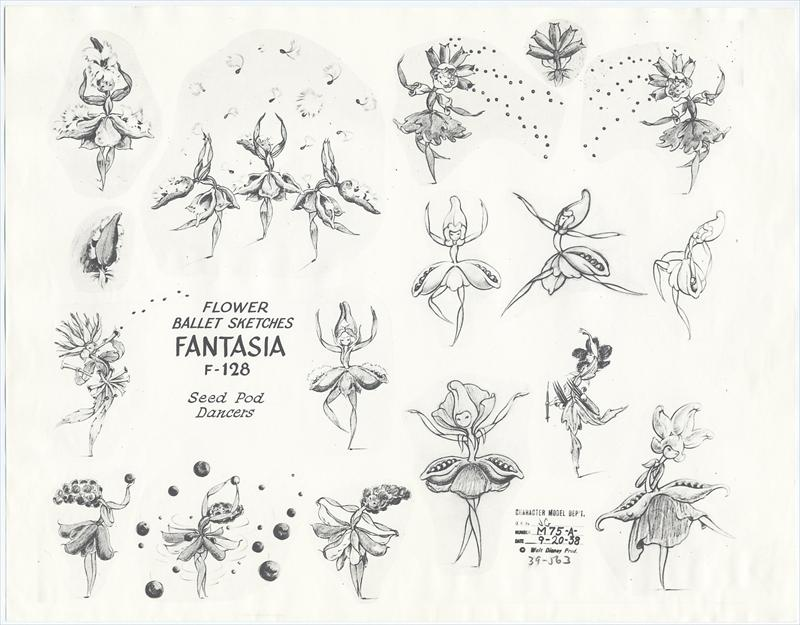 auction.howardlowery.com: 2 Disney FANTASIA Animation
