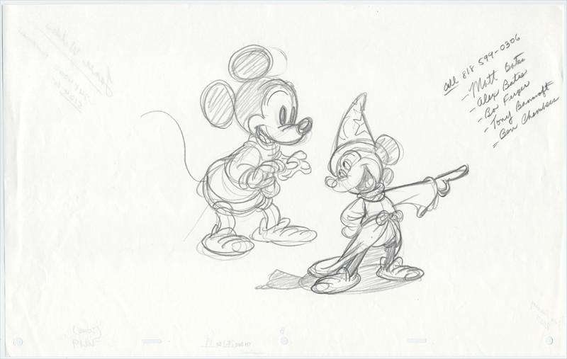 auction.howardlowery.com: Disney MICKEY MOUSE Character