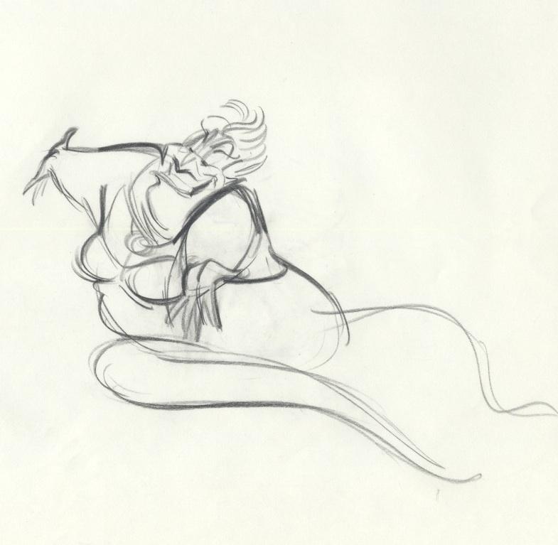 auction.howardlowery.com: Disney THE LITTLE MERMAID Lively