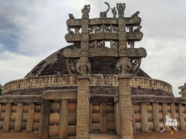 The gorgeous Sanchi Stupa of Madhya Pradesh