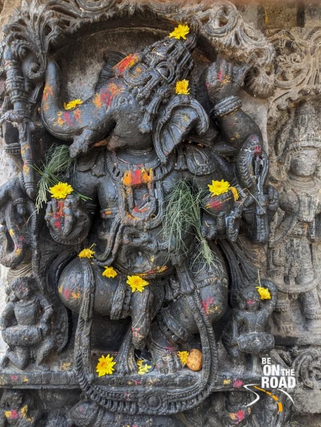 Tandav Ganesha at Lakshmi Narasimha Temple, Javagal, KarnatakaTandav Ganesha at Lakshmi Narasimha Temple, Javagal, Karnataka