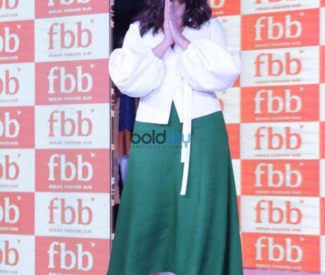 Ileana Dcruz At Launch Of Fbb New Collection In Noida