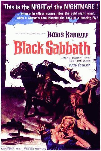 Resultado de imagem para black sabbath filme de terror