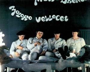 Clockwork Orange screens on Saturday, September 19