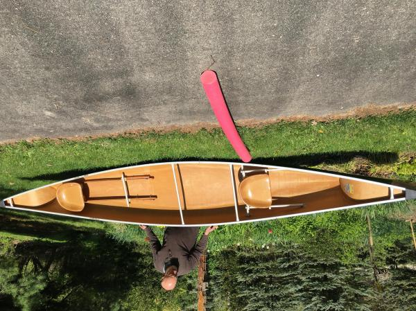 Sawyer Kevlar Canoe - Year of Clean Water