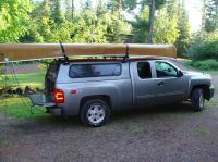 Thule Roof Rack For Truck Cap. Thule Tracker II Roof Rack