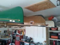 How To Hang A Canoe In A Garage - Garage Designs