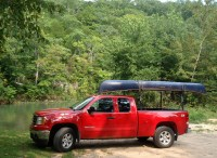 Homemade Canoe Rack For Pickup Truck