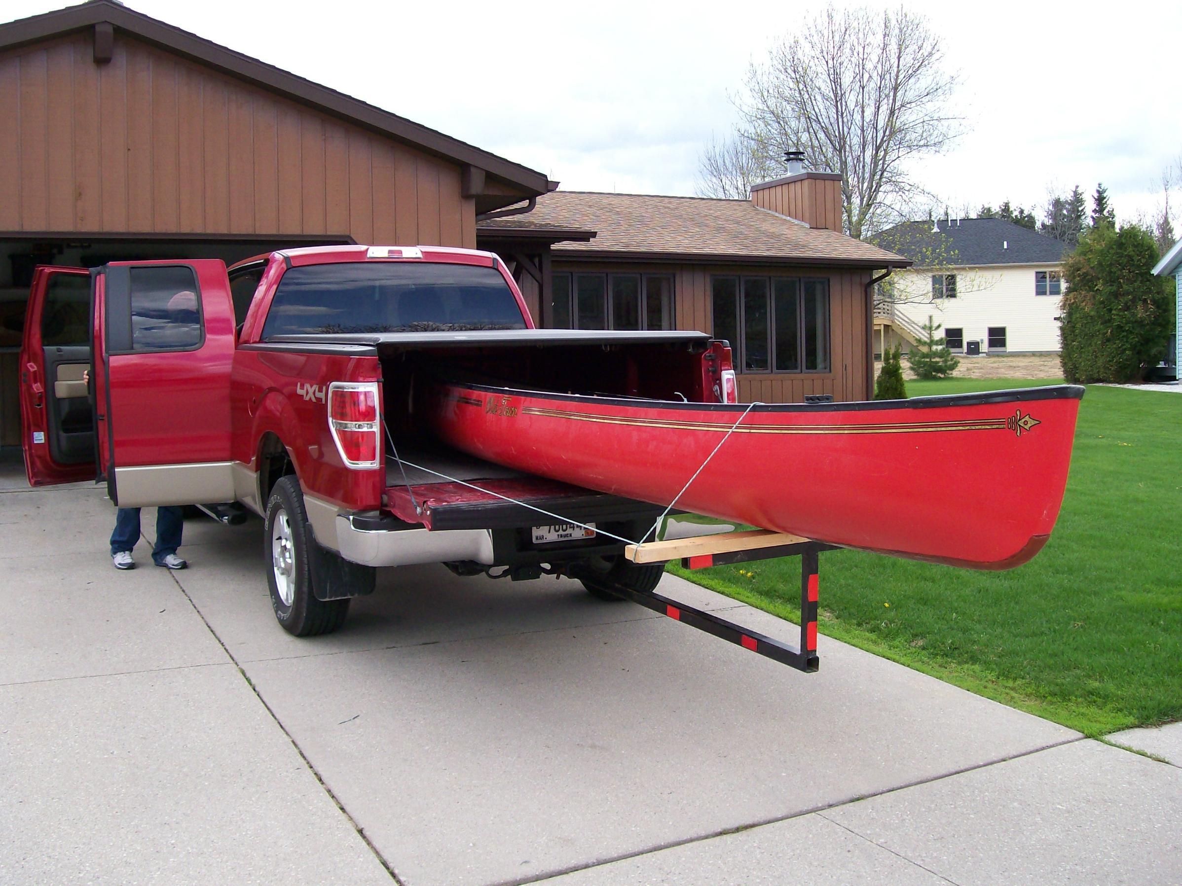 BWCA Canoe Rack/Carrier for my Truck Boundary Waters Gear