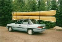 Canoe Roof Racks & Thule Portage Canoe Gunwale Brackets ...