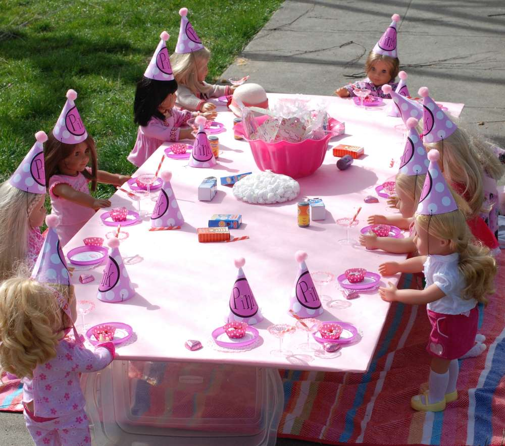 American Girl Birthday Party Ideas Photo 19 Of 39
