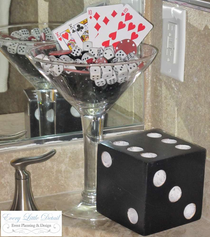 Monte carlo night table centerpiece