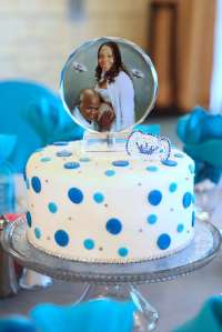 Pacifier & Diamond Baby Shower Party Ideas