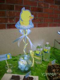 Rubber Ducky Baby Shower Party Ideas | Photo 2 of 8 ...