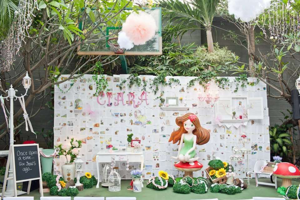 Enchanted Garden Fairy Party' Birthday Party Ideas Photo 21 Of