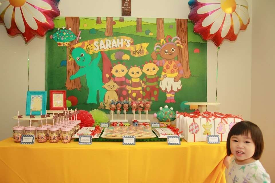 In The Night Garden Birthday Party Ideas Photo 1 Of 16 Catch