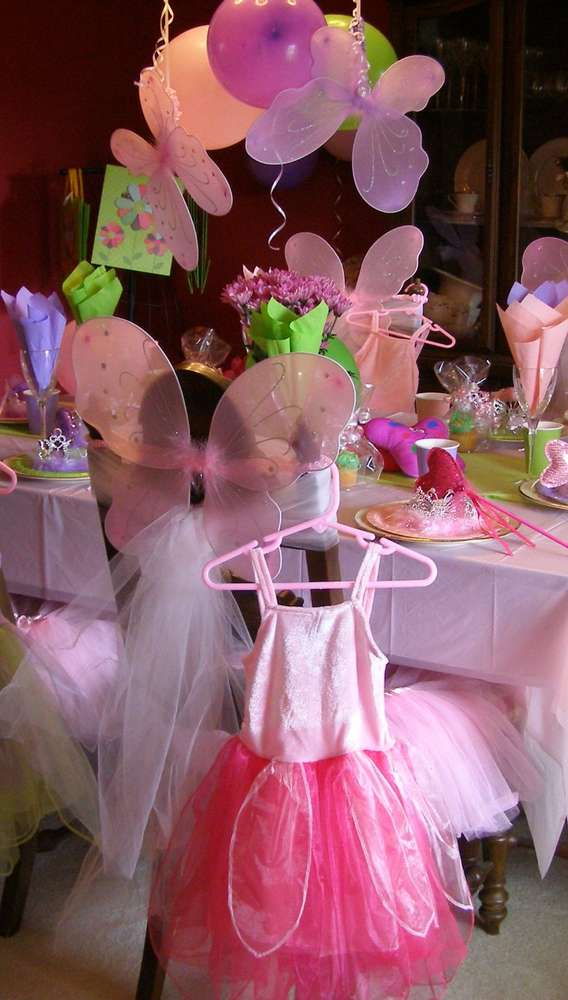 Fairy Princess Party Birthday Party Ideas Photo 1 Of 8