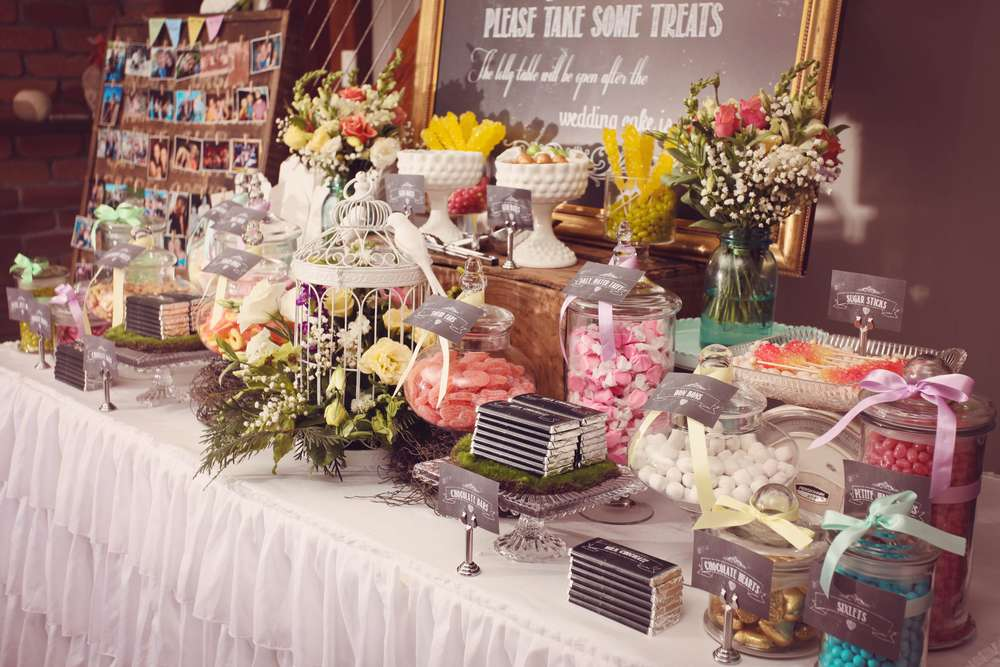 Vintage Garden Wedding Party Ideas Photo 4 Of 43 Catch My Party