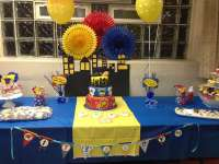 Superhero Baby Shower Party Ideas | Photo 6 of 12 | Catch ...