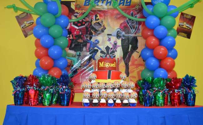 Power Ranger Samurai Birthday Party Ideas Photo 1 Of 8