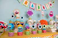 Little Monsters Baby Shower Party Ideas | Photo 17 of 21 ...