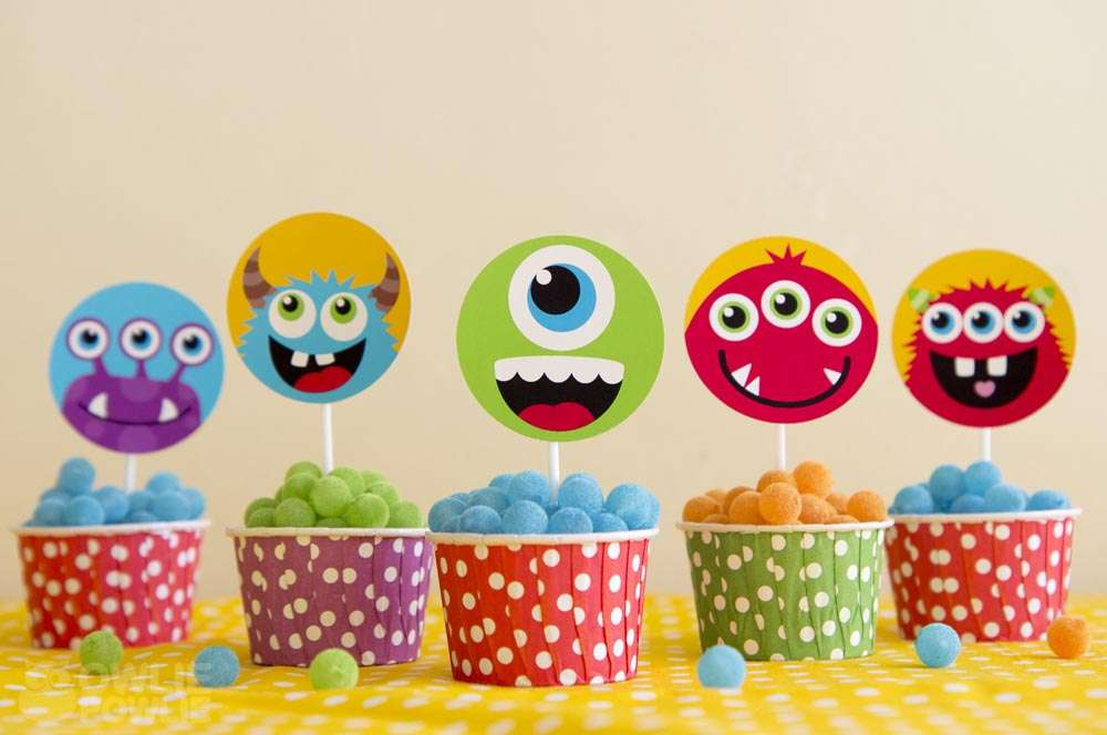 Little Monsters Baby Shower Party Ideas