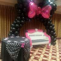 Minnie Mouse Polka dots Baby Shower Party Ideas | Photo 1 ...