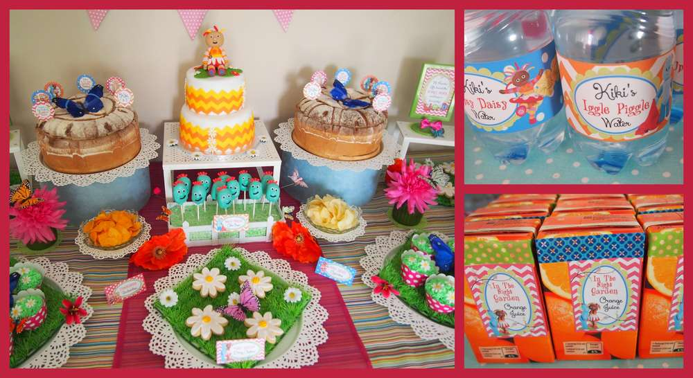 In The Night Garden Birthday Party Ideas Photo 9 Of 36 Catch