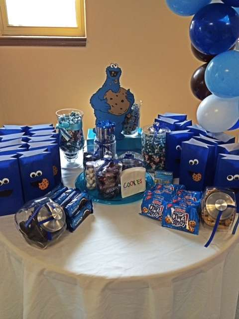 Cookie Monster Birthday Party Ideas  Photo 1 of 13