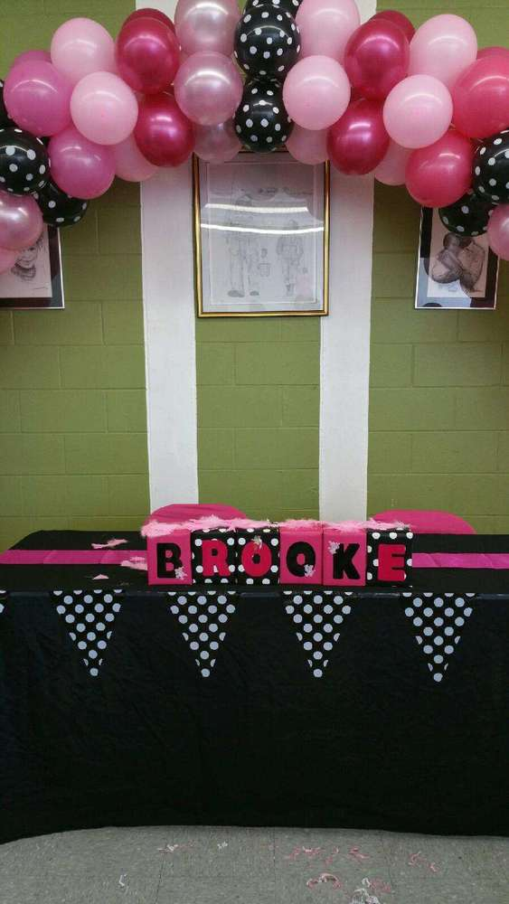 Pink Panther Baby Shower Party Ideas Photo 8 Of 22