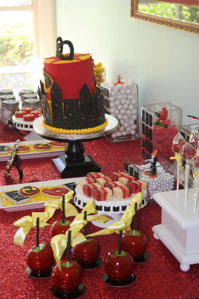 Incredibles Birthday Party Ideas  Photo 49 of 53  Catch