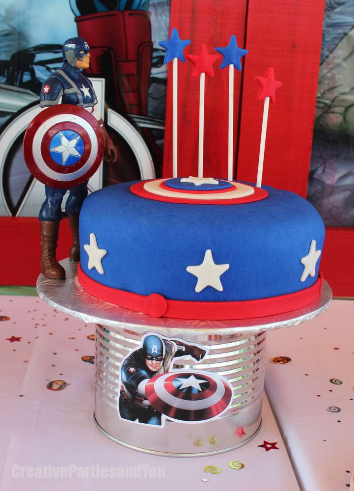 Avengers Birthday Party Ideas Photo 8 Of 37 Catch My Party