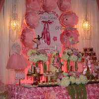 Ballerina Baby Shower Party Ideas | Photo 1 of 14 | Catch ...