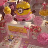 Minion girl Birthday Party Ideas | Photo 3 of 6 | Catch My ...