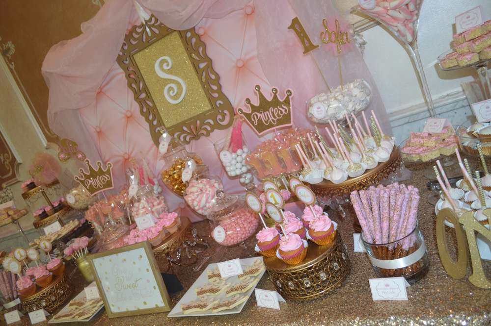 Minnie Mouse Party Ideas Candy Bar