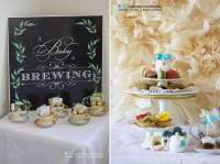 Tea Party Baby Shower Party Ideas | Photo 1 of 17 | Catch ...