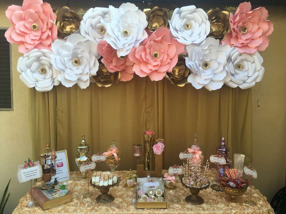 Flowers Quinceaera Party Ideas Photo 1 Of 15 Catch My Party