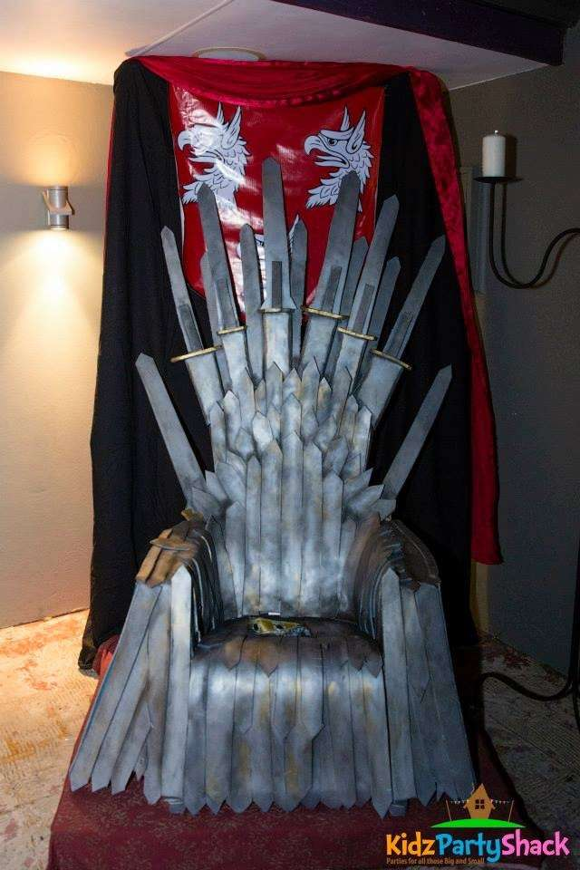 Game of thrones Birthday Party Ideas  Photo 8 of 26