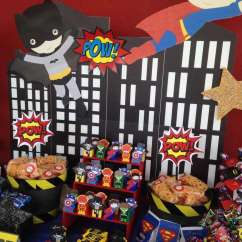 High Chair Tutu Folding Beach Chairs Costco Justice League Birthday Party Ideas | Photo 1 Of 8 Catch My