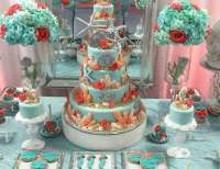 "Under the Sea / Quinceaera ""Coral Ocean Sweet Fifteen ..."