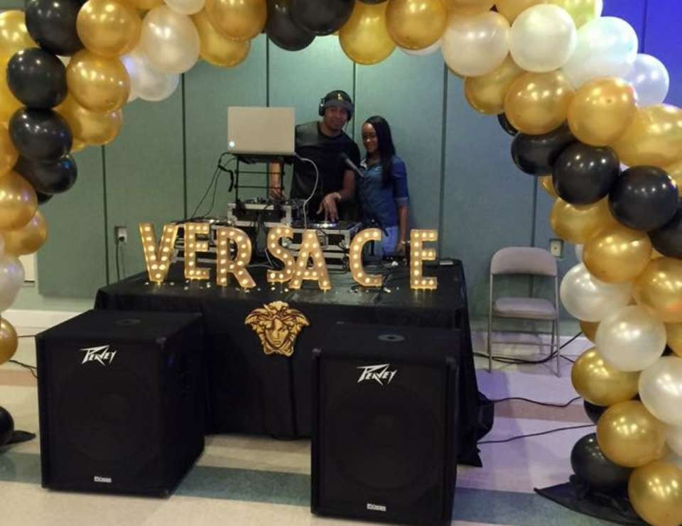 "Birthday ""Versace Party"" Catch My Party"
