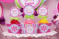 Car Themed Baby Shower By Candy Land Buffets - Hot Girls ...