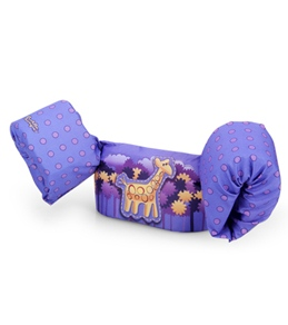 chair leg fishing floats casters for chairs on hardwood floors kids float suits at swimoutlet com stearns puddle jumper deluxe uscg life jacket